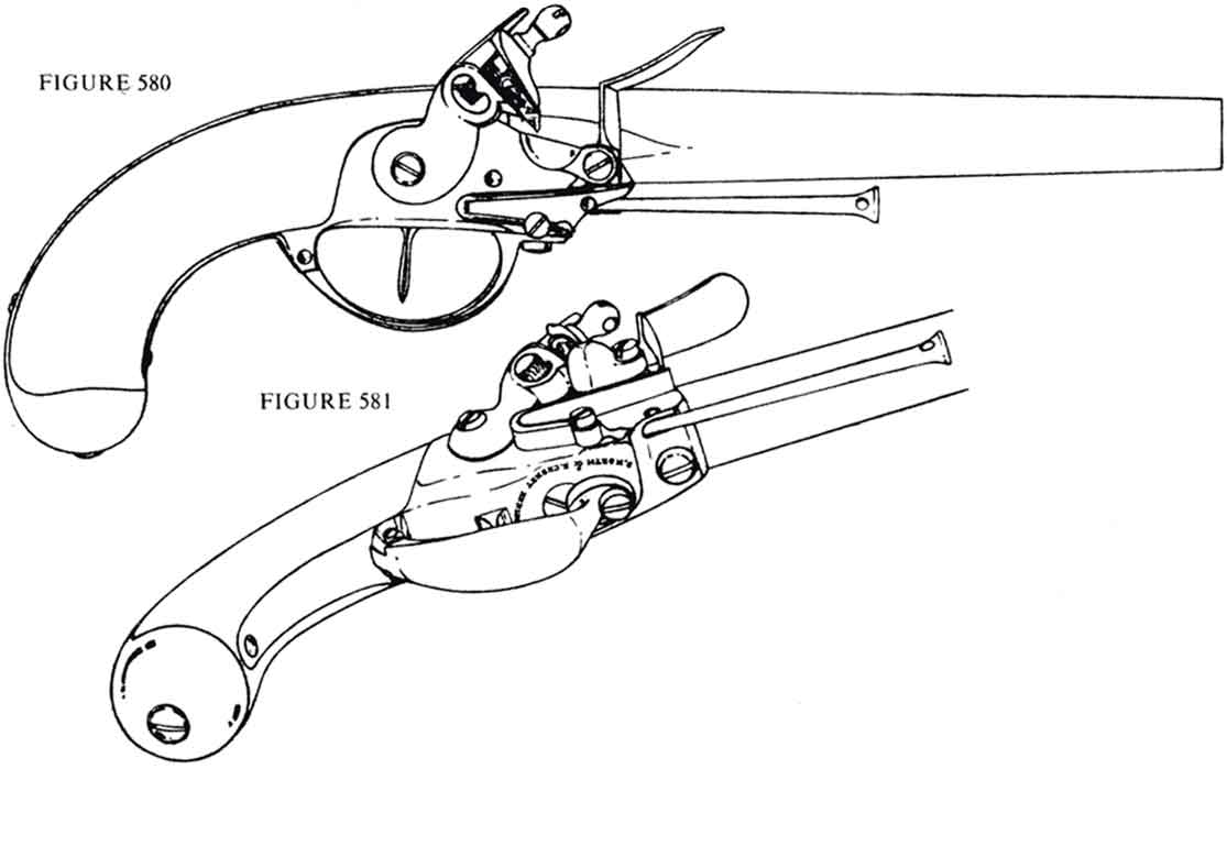 Gun flintlock pistol drawing sketch coloring page for Pistol coloring pages